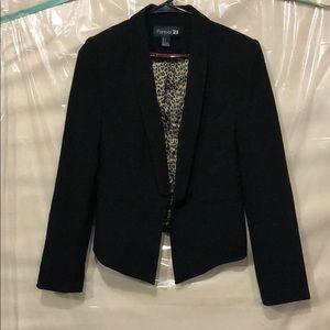 Forever 21 black blazer size s